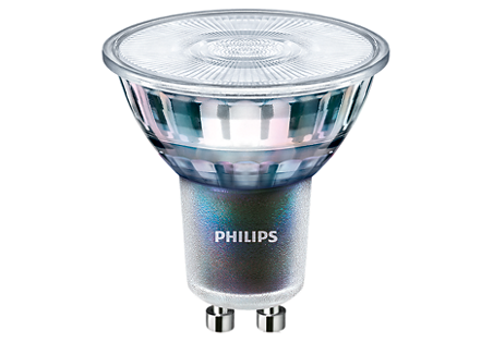 5,5W (50W) 400lm 4000K CRI97 25° dimmējama LED spuldze PHILIPS GU10