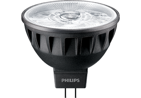 7,5W (43W) 500lm 3000K CRI92 24° dimmējama LED spuldze PHILIPS MR16