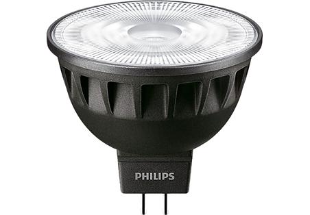 6,5W (35W) 440lm 3000K CRI97 24° dimmējama LED spuldze PHILIPS MR16