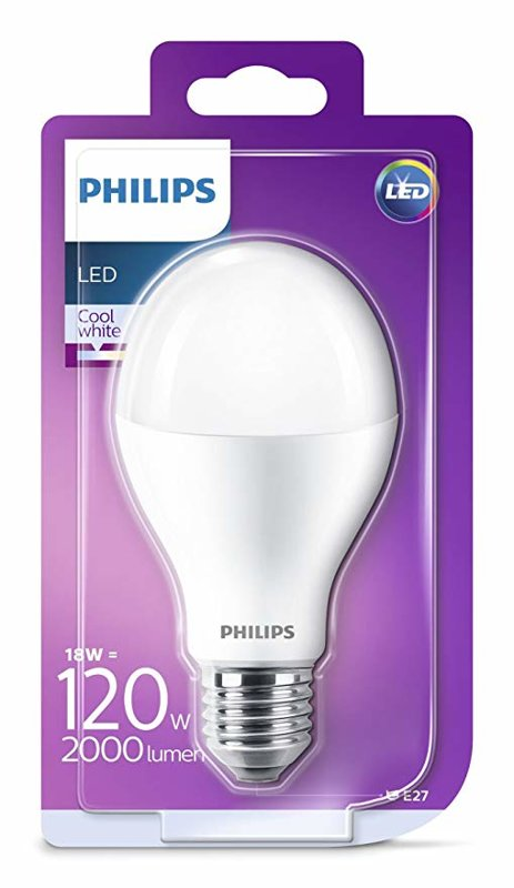 18W (120W) 4000K LED spuldze PHILIPS A67