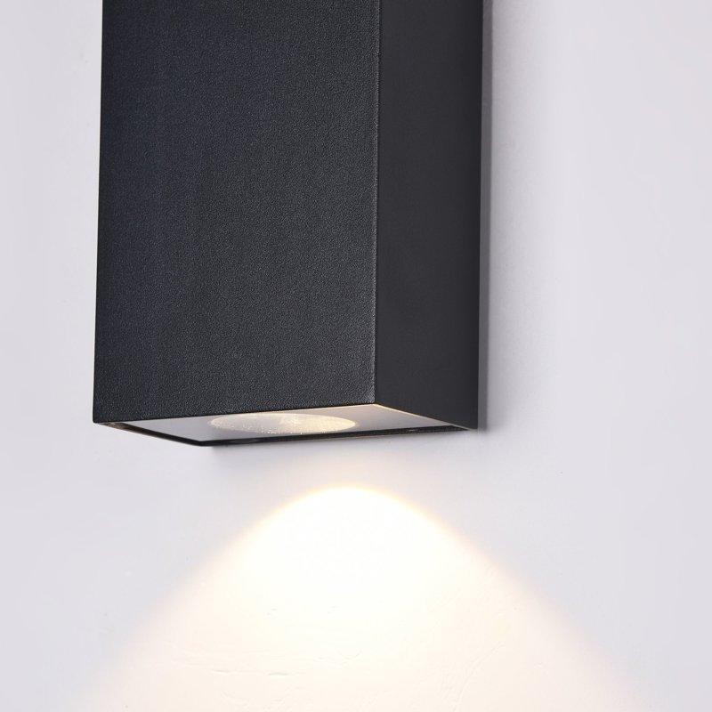 6W 480lm 3000K LED fasādes apgaismojums TIMES SQUARES