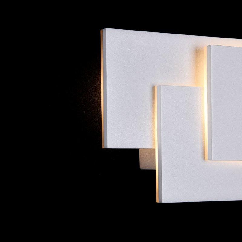 12W 400lm 3000K LED sienas lampa TRAME