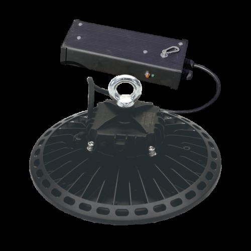 200W 30655lm 4000K LED noliktavas laterna UFA ar avārijas gaismu