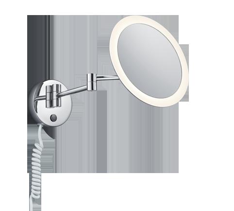 3W 280lm 3000K LED sienas lampa VIEW ar spoguli