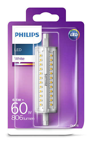6,5W (60W) LED spuldze PHILIPS R7S