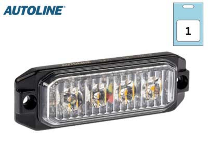 LED signāllampa AUTOLINE 1603-300650  (oranža)