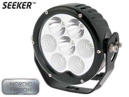 70W 6720lm 5000K Ref 17.5 LED tālās gaismas lukturis SEEKER