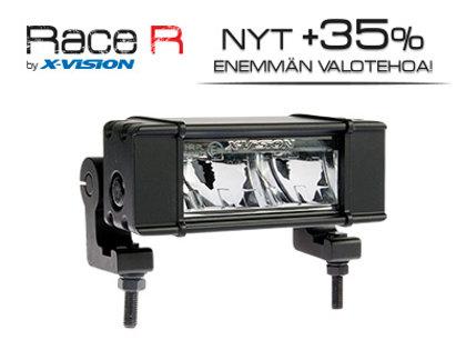16W 1916lm 6000K Ref 10 LED tālās gaismas lukturis X-VISION RACE R2