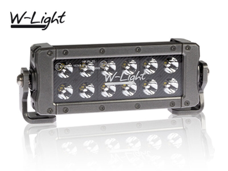 36W 3240lm 6000K Ref 20 LED tālās gaismas lukturis W-LIGHT HURRICANE