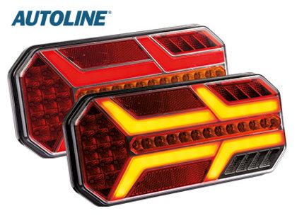 LED aizmugurējais lukturis AUTOLINE- kreisā puse