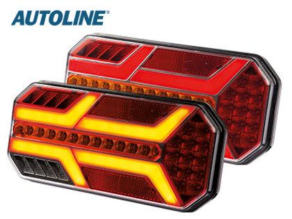 LED aizmugurējais lukturis AUTOLINE- labā puse