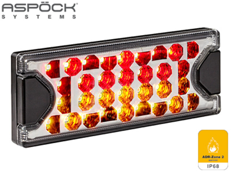 LED aizmugurējais lukturis ASPOCK MiniLED II 1608-4776