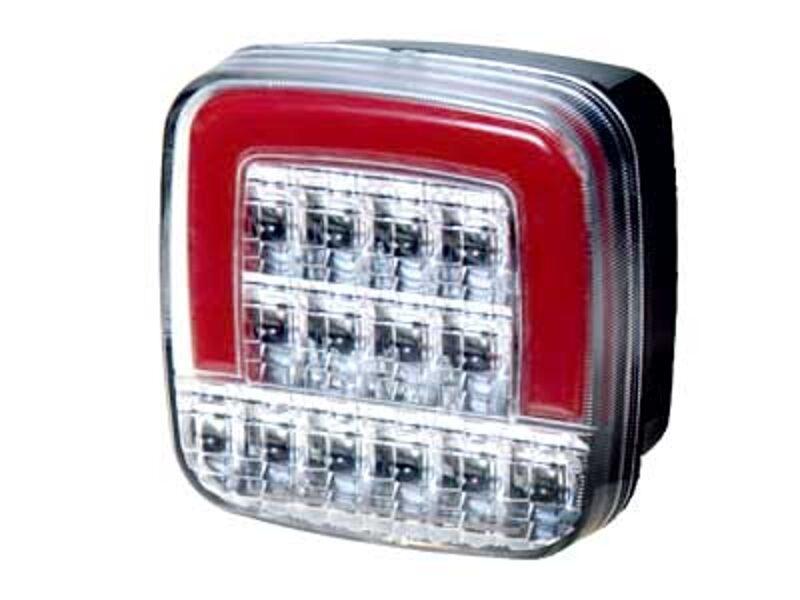 LED aizmugurējais lukturis 1608-6761