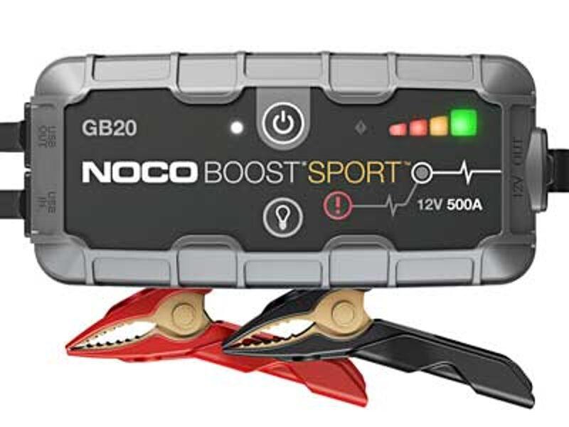 400A akumulatora palaidējs/spēka banka/LED lukturis NOCO BOOST SPORT