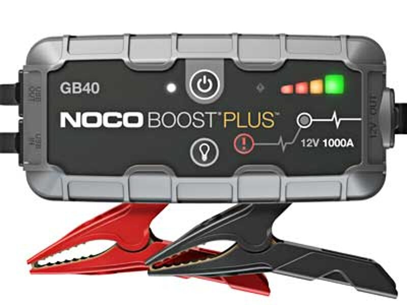 1000A akumulatora palaidējs/spēka banka/LED lukturis NOCO BOOST PLUS