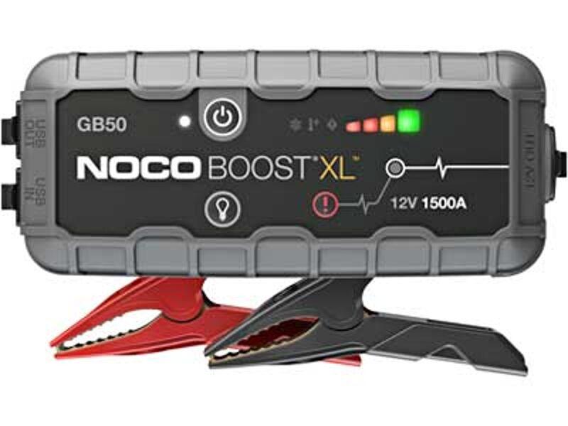 1500A akumulatora palaidējs/spēka banka/LED lukturis NOCO BOOST XL