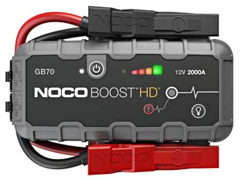 2000A akumulatora palaidējs/spēka banka/LED lukturis NOCO BOOST HD