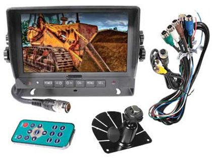 "7"" auto HD digitālais displejs S-VISION 1705-00035-HD"