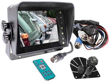 "5"" auto HD digitālais displejs S-VISION 1705-00041-HD"