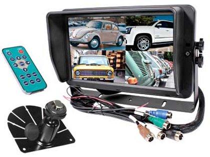 """10.1"""" skārienjūtīgs auto HD digitālais displejs S-VISION 1705-00046-HD"""