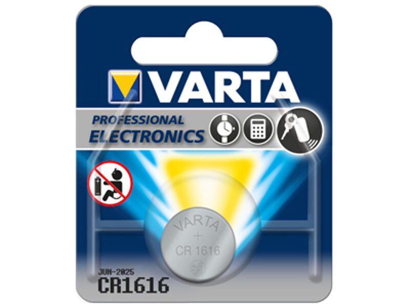 VARTA CR1616 baterija (1 gab.)