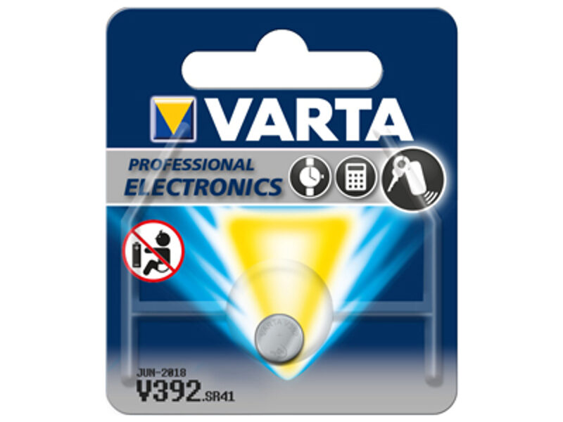 VARTA V392/SR41  baterija (1 gab.)