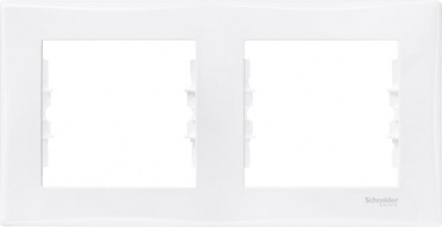 Rāmis 2-vietīgs horizontāls Sedna, balts