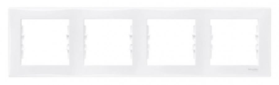 Rāmis 4-vietīgs horizontāls Sedna, balts