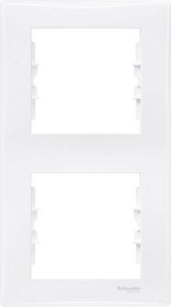 Rāmis 2-vietīgs vertikāls Sedna, balts