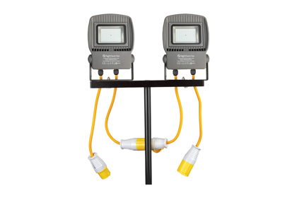 4000lm LED prožektors EcoStar slēdzams virknē (1 gab.)