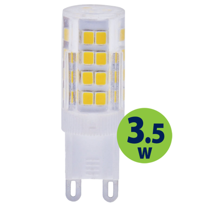 3.5W (35W) 2700K LED spuldze LEDURO G9