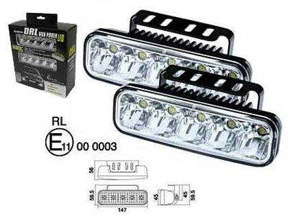 LED dienas gaitas lukturis 1605-NS1286 ar releju (2 gab.)