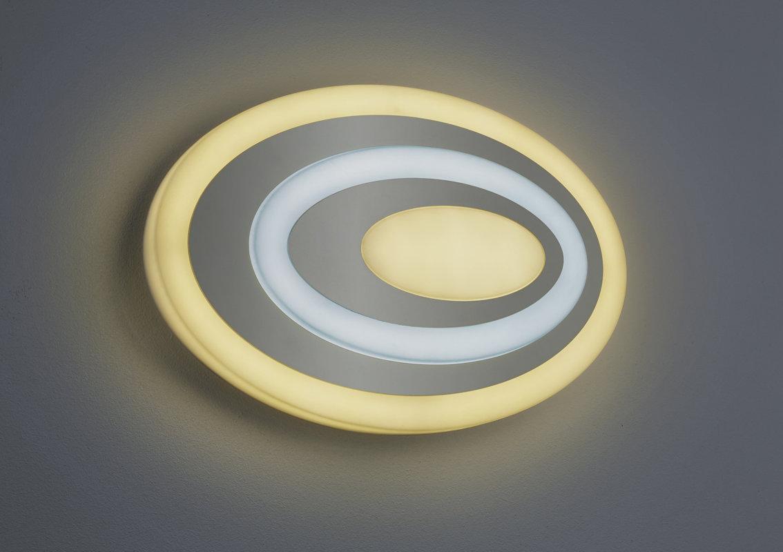 20W 2100lm 3000-5000K LED sienas lampa SUBARA ar gaismas regulatoru