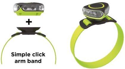30lm universāls LED sporta lukturis NightSearcher ENDURASTAR ar akumulatoru