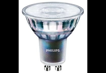 5,5W (50W) 355lm 2700K CRI97 25° dimmējama LED spuldze PHILIPS GU10