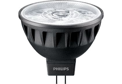7,5W (43W) 520lm 4000K CRI92 36°dimmējama LED spuldze PHILIPS MR16
