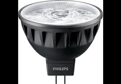 6,5W (35W) 410lm 2700K CRI97 10° dimmējama LED spuldze PHILIPS MR16