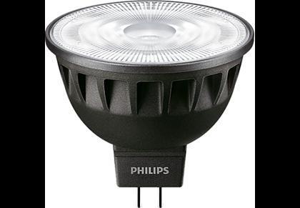 6,5W (35W) 400lm 2700K CRI97 60° dimmējama LED spuldze PHILIPS MR16