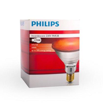 175W (250W) infrasarkanā spuldze PHILIPS PAR38