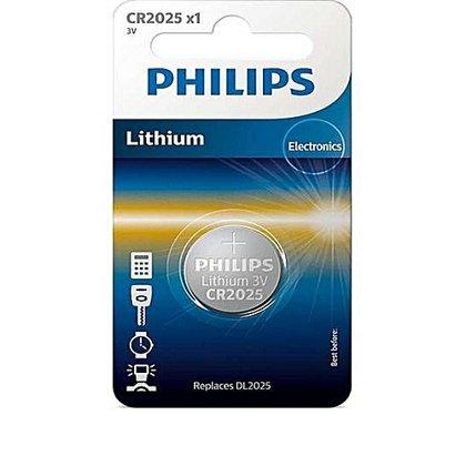PHILIPS CR2025 baterija (1 gab.)