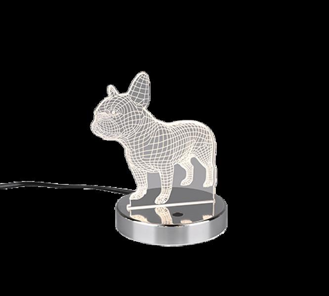 3.2W 200lm RGB+3000K LED galda lampa DOG