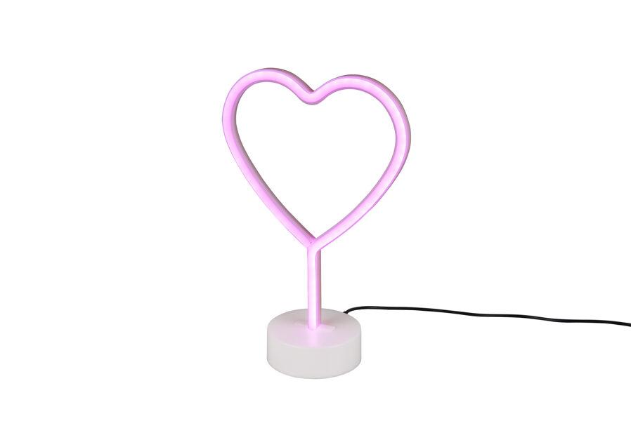 1.8W LED galda lampa HEART