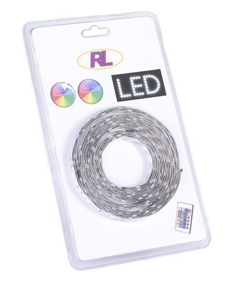 RGB krāsu mainošās LED lentas komplekts