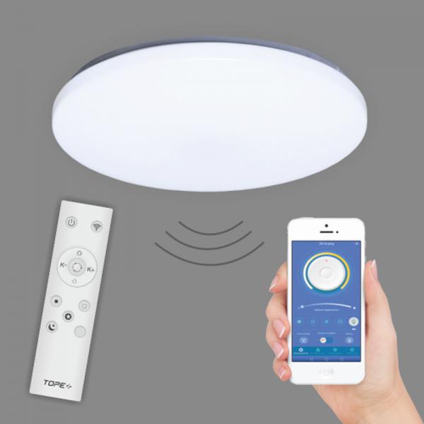48W 3600lm RGB+3000-6000K viedais LED plafons SOFIA ar iLink tehnoloģiju