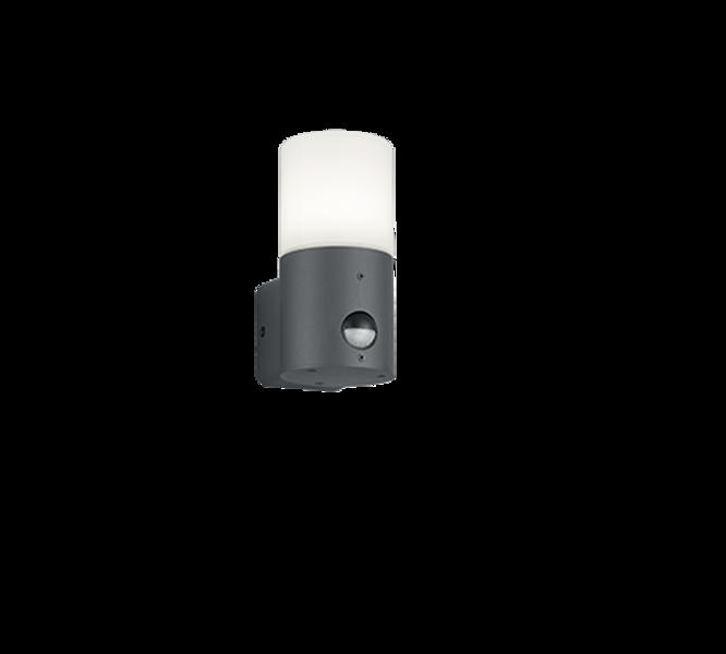 Fasādes apgaismojums HOOSIC ar kustības sensoru