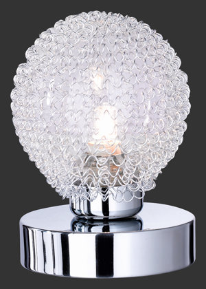 Galda lampa WIRE ar gaismas regulatoru