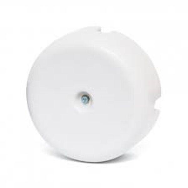 Porcelāna sadales kārba ∅78 x 35mm, balta