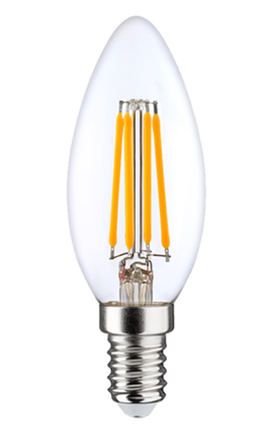 6W (60W) 2700K dimmējama LED filament spuldze LEDURO B35